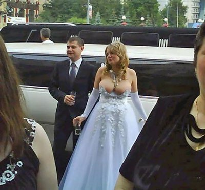 Платье невесты откровенное